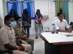 ज्वैलरी शॉप से लूट मामले में चार आरोपी गिरफ्तार, 5 की तलाश जारी|झारखंड,Jharkhand - Dainik Bhaskar