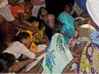 तेरहवीं संस्कार का सामान खरीदने निकले दो युवकों की हादसे में मौत; तीन घायल उत्तरप्रदेश,Uttar Pradesh - Dainik Bhaskar