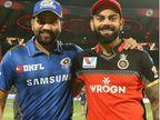 आईपीएल के सबसे महंगे खिलाड़ी विराट कोहली चौथे और रोहित शर्मा 8वें नंबर पर, लिस्ट में फुटबॉलर मेसी पहले और रोनाल्डो दूसरे पर|IPL 2020,IPL 2020 - Dainik Bhaskar