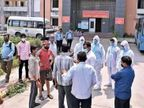 कोरोना मरीज ने 9वीं मंजिल से कूदकर सुसाइड किया, दोस्त से फोन पर कहा था- यहां अच्छा नहीं लग रहा|गुजरात,Gujarat - Dainik Bhaskar