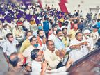कांग्रेस का हंगामा आरोप लगाया कि इस बार रोटेशन का नहीं हुआ पालन|जबलपुर,Jabalpur - Dainik Bhaskar