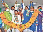 उदित राज बोले- बिहार में कारखाने कांग्रेस की ही देन है, हम दलितों के हितैषी, नारों से ठगती है भाजपा|पटना,Patna - Dainik Bhaskar