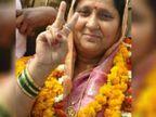 बाहुबली विधायक विजय मिश्रा की पत्नी को अग्रिम जमानत मिली, बेटे की नामंजूर, कोर्ट ने गैर जमानती वारंट जारी किया|उत्तरप्रदेश,Uttar Pradesh - Dainik Bhaskar