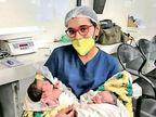 सूरत में संक्रमित 241 माताओं से सिर्फ 13 नवजात को कोरोना, डॉक्टर बोले; मां के दूध में इतनी ताकत कि बच्चों को समस्या नहीं हुई|लाइफ & साइंस,Happy Life - Money Bhaskar