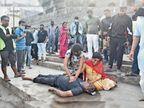सुबह मार्निंग वाक का कहकर निकले मेडिकल संचालक ने नृसिंहघाट पुल से शिप्रा में कूदकर आत्महत्या कर ली, शव निकालने के बाद बेटी करती रही पंपिंग, बोली- पापा उठ जाओ|उज्जैन,Ujjain - Dainik Bhaskar