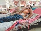 मां को गाली देने से रोका, शराबी पिता ने इकलौते बेटे के सीने में उतारा छूरा|खरखौदा,Kharkhonda - Dainik Bhaskar