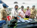 चेकिंग के दौरान जब्त की 5 किलो से अधिक चांदी; अल्लाबेली चौकी पर भारत निर्वाचन आयोग से आए व्यय पर्यवेक्षक ने की कार्रवाई|मुरैना,Morena - Dainik Bhaskar