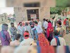 जरूरतमंदों को भोजन कराकर राजमाता विजयाराजे सिंधिया को किया याद|बारां,Baran - Dainik Bhaskar