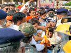 मुख्यमंत्री के निर्वाचन क्षेत्र में घेराव करने जा रहे सांसद विजय बघेल गिरफ्तार; कार्यकर्ताओं और पुलिस के बीच जमकर धक्का-मुक्की|छत्तीसगढ़,Chhattisgarh - Dainik Bhaskar