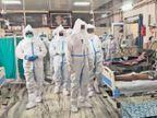 पशु चिकित्सक व सिपाही समेत 58 कोरोना संक्रमित मिले, दुकानदार की माैत झुंझुनूं,Jhunjhunu - Dainik Bhaskar