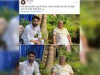 RJD नेता ने लालू यादव से मुलाकात के बाद सोशल मीडिया पर पोस्ट की फोटो, भाजपा ने कहा- जेल मैनुअल का उल्लंघन|रांची,Ranchi - Dainik Bhaskar