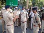 बारावफात को लेकर राजधानी लखनऊ में निकाला गया फ्लैग मार्च, सोशल मीडिया पर पुलिस लगातार कर रही है निगरानी|लखनऊ,Lucknow - Dainik Bhaskar