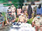 सिमडेगा में ठेकेदार से लेवी मांगने वाले चार पीएलएफआई के उग्रवादी बानो में गिरफ्तार|सिमडेगा,Simdega - Dainik Bhaskar