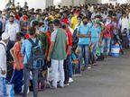 अक्टूबर में भारत की बेरोजगारी दर बढ़ी, देश में बेरोजगारी के लिहाज से हरियाणा और राजस्थान टॉप पर|बिजनेस,Business - Dainik Bhaskar