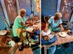 जालंधर में 70 वर्षीय बुजुर्ग महिला खाना बेचकर चला रहीं हैं अपना घर, एक्टर और सिंगर दिलजीत दोसांज ने की इनकी मदद की अपील|लाइफस्टाइल,Lifestyle - Dainik Bhaskar