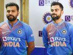 कोहली और रोहित टॉप-2 में बरकरार, गेंदबाजी के शीर्ष-10 में बुमराह अकेले भारतीय|स्पोर्ट्स,Sports - Dainik Bhaskar