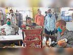 मिलावट के खिलाफ कार्रवाई, दुकानें बंद कर भागे व्यापारी|करौली,Karauli - Dainik Bhaskar