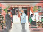 सकारात्मक सहकार्य भावना से भारत ने नेपाल को उपहार में दिए 28 वेंटिलेटर|जोगबनी,Jogbani - Dainik Bhaskar