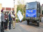 रोटरी क्लब ने सरहदों पर तैनात जवानों के लिए भेजी दिवाली की मिठाई, गवर्नर ने सेना के ट्रकों कोकिया रवाना चंडीगढ़,Chandigarh - Dainik Bhaskar