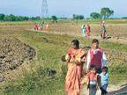 त्योहार की खरीदारी के लिए नेपाल के हजारों नागरिकों ने लांघा बॉर्डर|सुपौल,Supaul - Dainik Bhaskar
