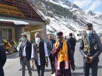 हिमाचल के गवर्नर बोले- दुनिया में सबसे लंबी है अटल टनल, पर्यटन से होगा विकास|हिमाचल,Himachal - Dainik Bhaskar
