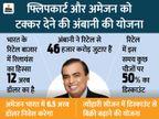 त्यौहारी सीजन में 50% की छूट के साथ अंबानी ई-कॉमर्स में जमाना चाहते हैं अपना सिक्का|बिजनेस,Business - Money Bhaskar