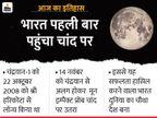 चंद्रयान से अलग होकर इस डिवाइस ने चांद की सतह पर पहली बार खोजा पानी देश,National - Dainik Bhaskar