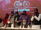 अयोध्या के किसानों ने अखिलेश यादव से मांगा साथ, जनेऊ की सौगंध खाकर बोले- हम ब्राह्मण चुनाव में सपा को करेंगे वोट उत्तरप्रदेश,Uttar Pradesh - Dainik Bhaskar