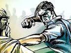 बाइक के सामने अड़े शराबी युवक, विरोध करने पर ईंटों से हमला कर किया अधमरा|पानीपत,Panipat - Dainik Bhaskar