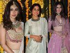 एकता कपूर की दिवाली पार्टी में पहुंचे कई टीवी सेलेब्स, मौनी रॉय, हिना खान और करिश्मा तन्ना का दिखा स्टनिंग लुक|बॉलीवुड,Bollywood - Dainik Bhaskar