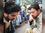 बाबिल ने पिता इरफान खान के लिए लिखा- अभी भी लगता है आप लंबे शूट के लिए गए हैं, वापस लौट आओगे|बॉलीवुड,Bollywood - Dainik Bhaskar