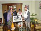 साइना नेहवाल पति पारूपल्ली कश्यप के साथ पहुंचीं हिमाचल, CM और गवर्नर से की मुलाकात हिमाचल,Himachal - Dainik Bhaskar