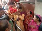 मनोज तिवारी ने किए मां विंध्यवासिनी के दर्शन; बोले- नीतीश की अगुवाई में दो डिप्टी CM बिहार को आत्मनिर्भर बनाएंगे वाराणसी,Varanasi - Dainik Bhaskar