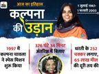 भारत की पहली महिला अंतरिक्ष यात्री जिन्होंने कल्पना की उड़ानों को थमने नहीं दिया देश,National - Dainik Bhaskar