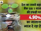 1 साल के लिए FD कराने का बना रहे हैं प्लान, तो यहां जान लें कौन सा बैंक दे रहा ज्यादा ब्याज यूटिलिटी,Utility - Money Bhaskar
