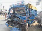 सूरत से पावागढ़ जाते समय हादसा, एक ही परिवार के पांच लोगों समेत 11 की मौत|गुजरात,Gujarat - Dainik Bhaskar
