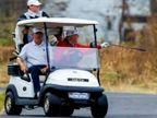ट्रम्प ने G20 समिट का सेशन छोड़ा, कुछ देर बाद अपने रिसॉर्ट में गोल्फ खेलते नजर आए|विदेश,International - Dainik Bhaskar