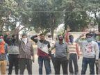 बदायूं में महिला इंस्पेक्टर ने बिना मास्क घर से बाहर निकले SSO को जड़ा थप्पड़, साथियों ने 35 गांवों की बत्ती गुल की|लखनऊ,Lucknow - Dainik Bhaskar