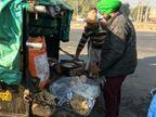 कृषि कानून का विरोध करने महीनों का राशन औरआटा चक्की तक लेकर निकलेहैं अन्नदाता|पानीपत,Panipat - Dainik Bhaskar