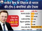 एलन मस्क की कंपनी का मार्केट कैप भारत की टॉप-5 कंपनियों के कुल मार्केट कैप से भी ज्यादा|बिजनेस,Business - Dainik Bhaskar