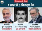 अमेरिका और इजराइल ने ईरान के सीक्रेट मिशन के 3 अहम मोहरे मार गिराए|विदेश,International - Dainik Bhaskar