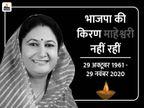 निधन के बाद उदयपुर लाया गया पार्थिव शरीर, कल कोरोना प्रोटोकॉल के तहत होगा अंतिम संस्कार|उदयपुर,Udaipur - Dainik Bhaskar