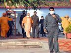 PM मोदी से पहले पहुंचे CM योगी; तैयारियों का लिया जायजा, अफसरों को अलर्ट रहने का दिया निर्देश|वाराणसी,Varanasi - Dainik Bhaskar