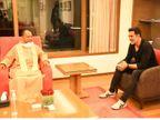 """फिल्म अभिनेता अक्षय कुमार से मुलाकात के साथ योगी ने की दौरे की शुरुआत, बुधवार को """"लिस्टिंग सेरेमनी"""" में मुख्य अतिथि के रुप में होंगे शामिल उत्तरप्रदेश,Uttar Pradesh - Dainik Bhaskar"""