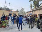 जमशेदपुर में टैंकर चालक की गिरफ्तारी और मुआवजे की मांग पर परिजनों ने थाना में किया हंगामा|झारखंड,Jharkhand - Dainik Bhaskar
