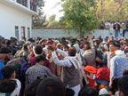 16 साल के बेटे ने शहीद पिता को दी मुखाग्नि, राजकीय सम्मान के साथ हुआ अंतिम संस्कार|भरतपुर,Bharatpur - Dainik Bhaskar