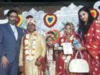 देवरिया में DM ने BSF जवान की बेटी का किया कन्यादान; उपहार भी भेंट किया, दुल्हन ने लिखी थी भावुक चिट्ठी|गोरखपुर,Gorakhpur - Dainik Bhaskar