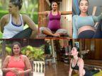 अनुष्का शर्मा से पहले, करीना कपूर खान से लेकर शिल्पा शेट्टी तक, इन एक्ट्रेस ने प्रेग्नेंसी के दौरान योगा कर फैंस को किया इंप्रेस|बॉलीवुड,Bollywood - Dainik Bhaskar