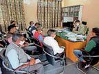 लाडनूं में अब 17 जोनल मजिस्ट्रेट संभालेंगे पंचायत चुनाव का जिम्मा, तैयारियां पूरी|लाडनूं,Ladanu - Dainik Bhaskar