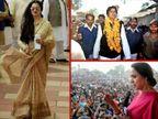 रजनीकांत से पहले अमिताभ बच्चन, रेखा और हेमा समेत कई सेलेब्स आजमा चुके हैं राजनीति में हाथ, कुछ हुए पास तो कुछ हुए फेल|बॉलीवुड,Bollywood - Dainik Bhaskar